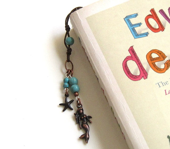 mermaid themed bookmark