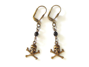 small pirate earrings