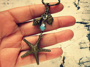 Big Starfish Keychain
