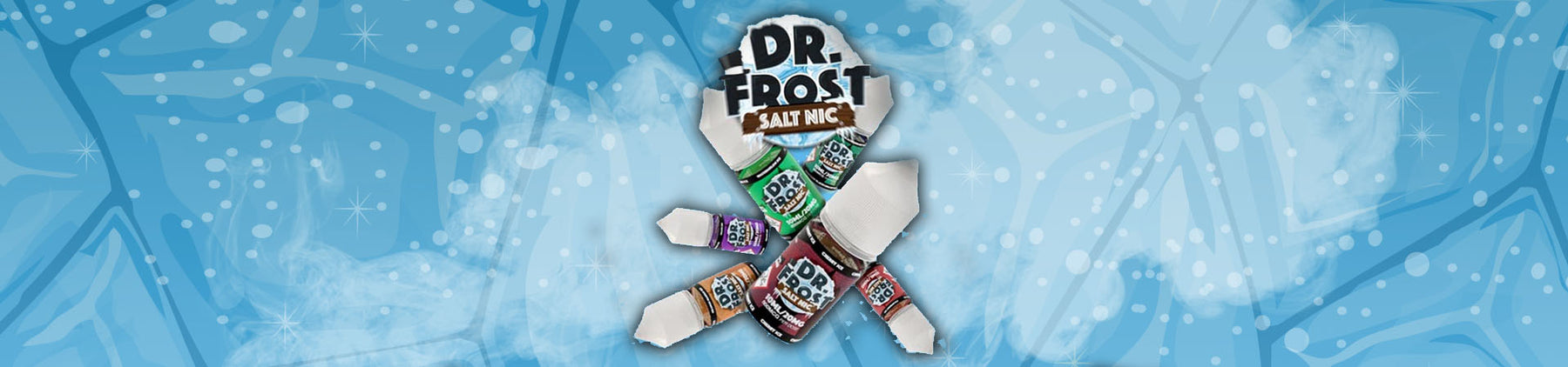 Dr Frost Salt Nic Range! Now Available