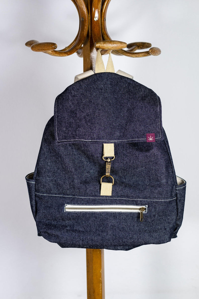 Hemp Bag - Mochila de cáñamo orgánico - hemp and love