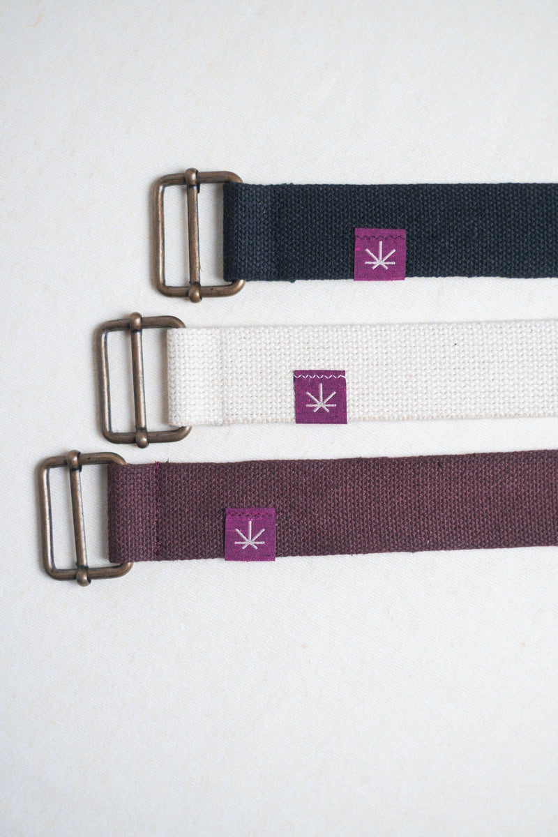 cinturón cáñamo orgánico Unisex hemp belt slow fashion Barcelona