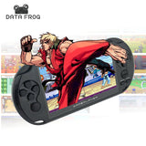 DataFrog 5.0 Large Screen Handheld Game Player w/ TV Out, MP3/Multimedia/500+built in Video Game Console