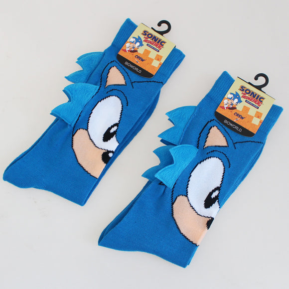 Sonic the Hedgehog Knee-High Warm Casual Socks