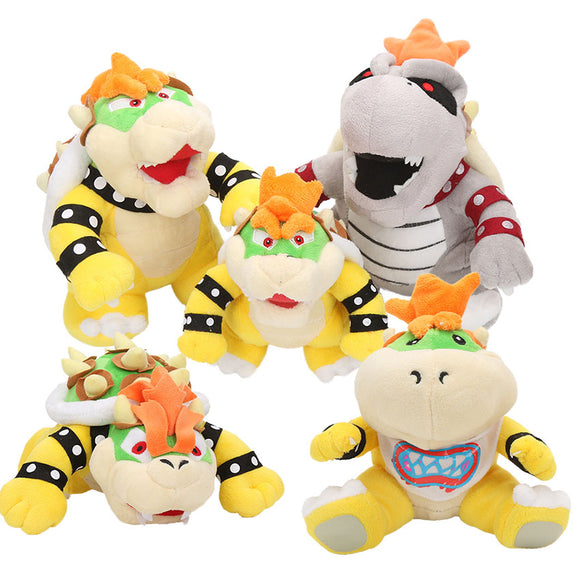 6.7-10inch Super Mario King Koopa (Bowser) Plush Toys