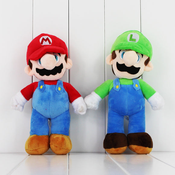 25cm Super Mario or Luigi Plush Soft toy