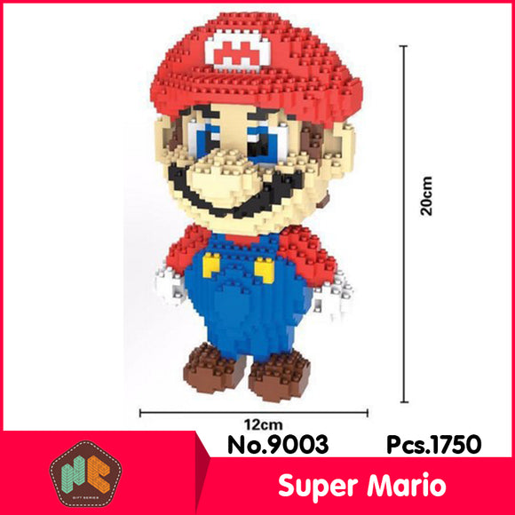 1750Piece Super Mario Lego like building blocks (Without Original Box)