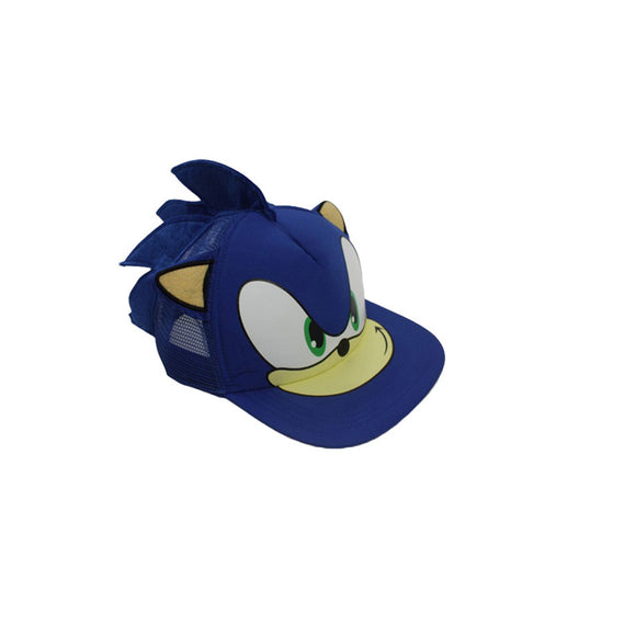 Sonic The Hedgehog Adjustable Baseball Cap - Spikes and all!