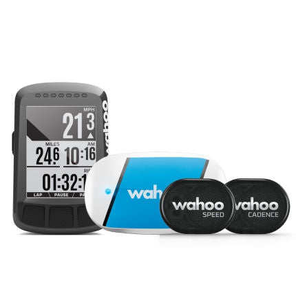Wahoo ELEMNT BOLT STEALTH EDITION GPS Cycle Computer Bundle