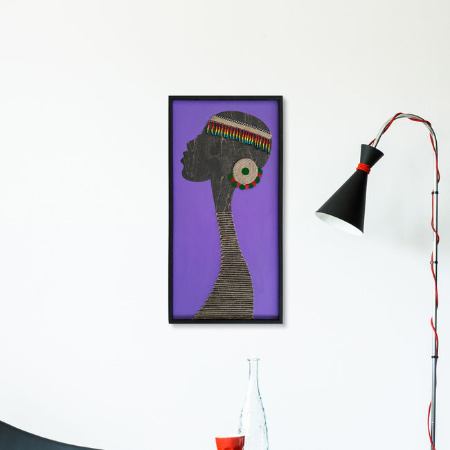 WoodAfrican - Onyeka Purple