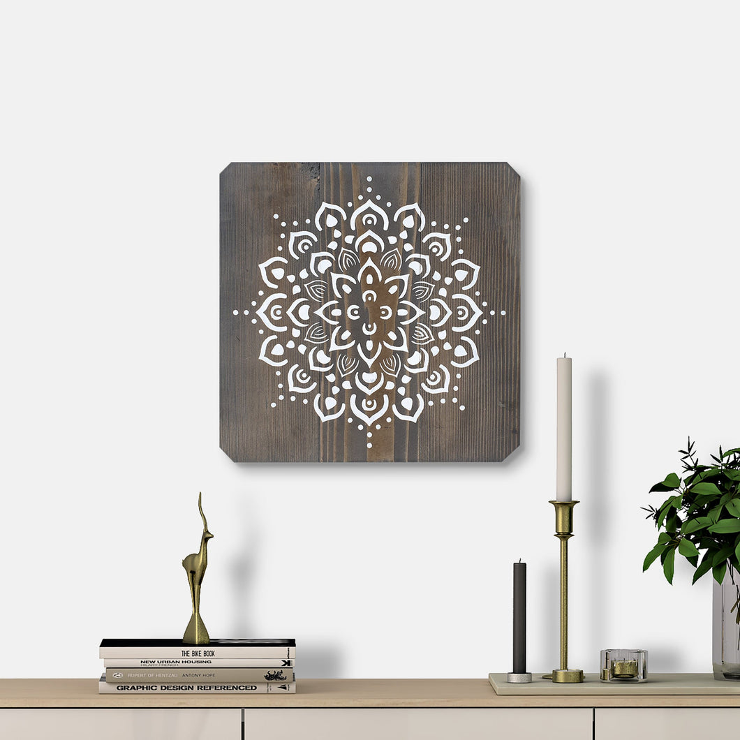 WoodColor -  Black Mandala II