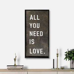 WoodMotto - All You Need is Love