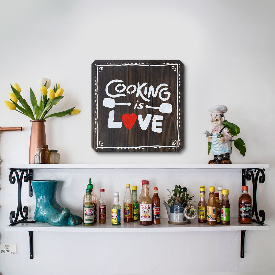 WoodMotto - Cooking is Love