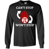 Image of Cant Stop Wont Math Teacher T shirt