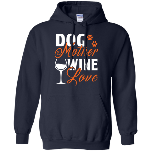 Dog Mother Wine Lover Mothers T shirt