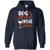 Image of Dog Mother Wine Lover Mothers T shirt