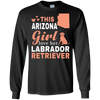Image of Arizona Loves Labrador Retriever Shirt -  Labrador Retriever T-Shirt
