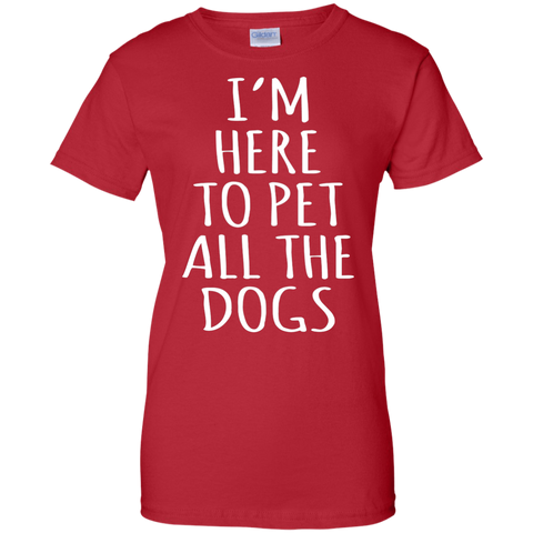 Funny T Shirt Dog Lovers Heather