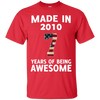 Image of Kids Made 2010 AWESOME Heather T shirt