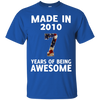 Image of Kids Made 2010 Years AWESOME T shirt