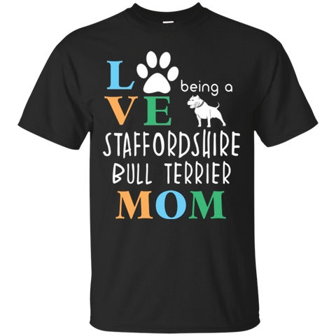 Being Staffordshire Bull Terrier Brown T shirt