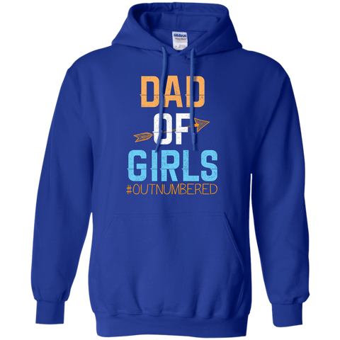 Dad Girls Outnumbered Fathers Day