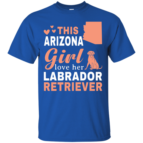 Arizona Loves Labrador Retriever Shirt -  Labrador Retriever T-Shirt
