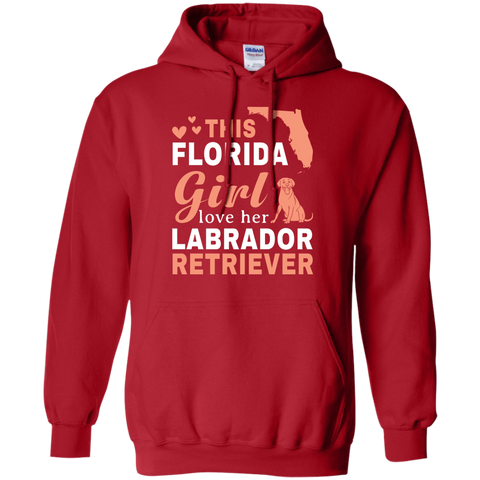 Florida Loves Labrador Retriever Shirt