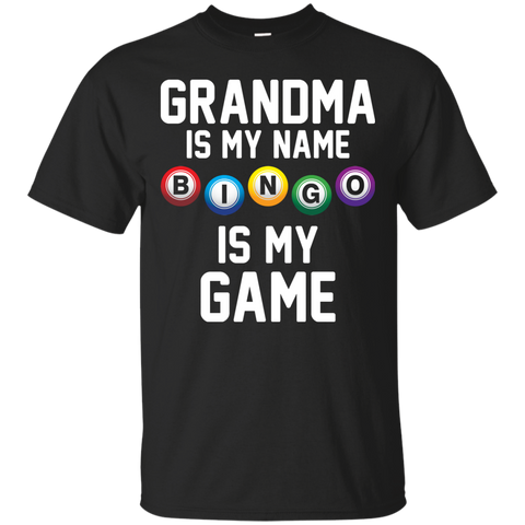 Womens Grandma Bingo Shirt Heather
