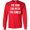 Image of Mens Funcle T Shirt Large Heather