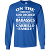 Image of Badass Carrillo Family Gift Poster T shirt