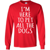 Image of Funny T Shirt Dog Lovers Heather