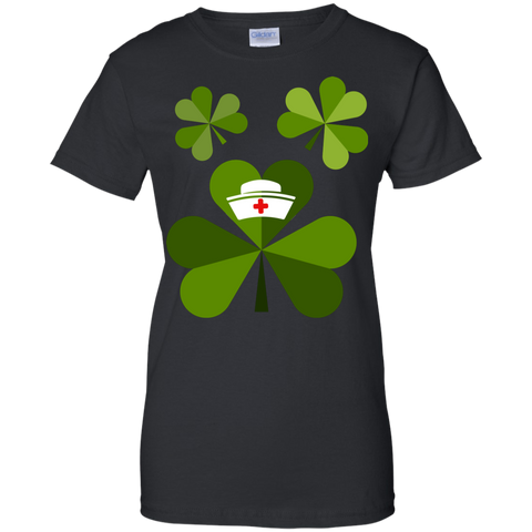Funny Nurse Doctor Shamrock Patricks T shirt