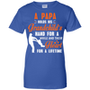 Image of Father grandpa daughter Heather T shirt