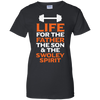 Image of Distressed Father Swoley T Shirt Heather