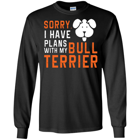 Bull Terrier Funny Dog Heather T shirt