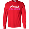 Image of Blessed Grandma Family T Shirt Heather