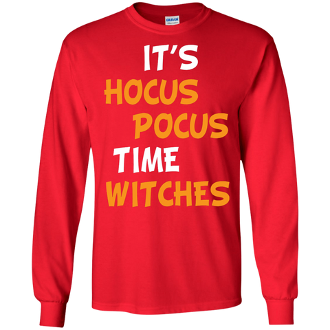 Its Hocus Pocus Time Witches T shirt