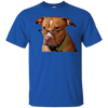 Image of Womens Pitmas Pitbull Christmas Heather T shirt