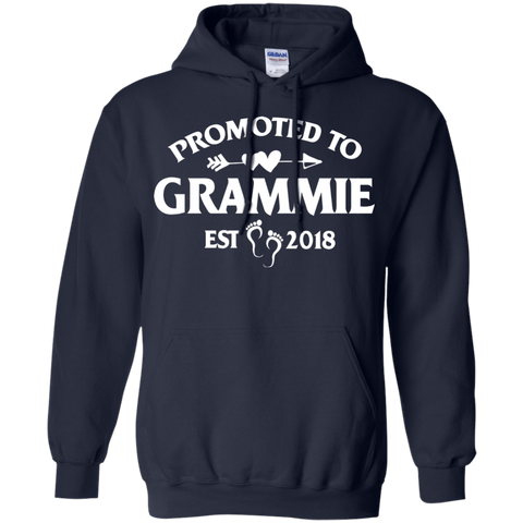 Womens Promoted Grammie Est 2018 Tshirt