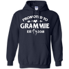 Image of Womens Promoted Grammie Est 2018 Tshirt