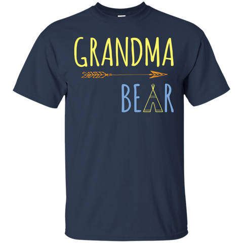 Womens Grandma Bear Medium Purple | Womens Grandma Bear Tshirt