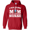Image of I Diagnose My Mom as an Awesome Nurse Long Sleeve T shirt