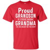 Image of Grandson freakin awesome grandma Purple T shirt