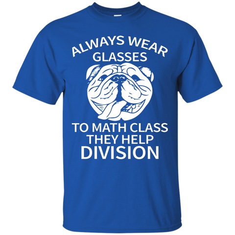 Always Eyeglasses Math Funny T Shirt