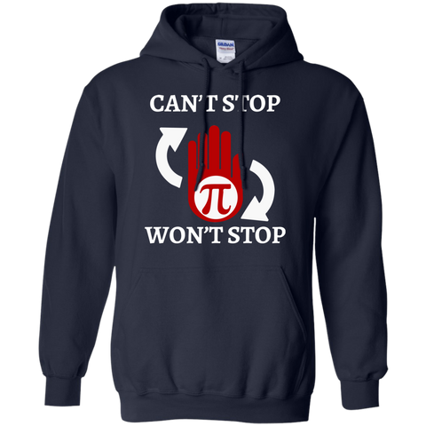 Cant Stop Wont Math Teacher T shirt