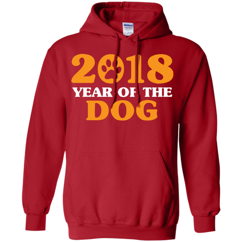 Funny Dog 2018 Chinese Year T shirt