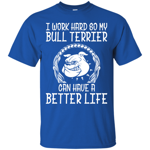 Bull Terrier T Shirt Funny Puppy Heather
