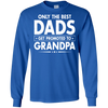 Image of Only best promoted Grandpa shirt - Fathers Day Gifts T Shirt