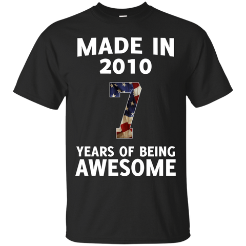 Kids Made 2010 Years AWESOME T shirt